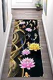 Korridor Teppich- Flur Teppich Läufer, Teppich Modern Style, Breite 60cm / 80cm / 100cm...