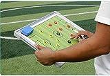 YZHY Aluminiumlegierung Coach Lieferungen,Taktiktafel Fussball,Grafik Board Sand Tisch,Trainer...