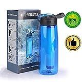 FVAL Wasserfilter Outdoor Survival Kit Outdoor WasserfilterWasserfilter Camping Wandern Reise...