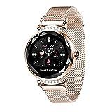QIANRUNHE H2 Smartwatch Mode Damen Armband Pedometer, Fitness Pulsmesser Smart Armband Tracker,...