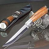 TM HS - 253 • FESTSTEHENDE Messer OUTDOORMESSER • Gesamtlänge: 270mm • FTM-de.