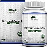 Schwarzkmmell Kapseln, 730 Kapseln, 1000 mg pro Portion, Jahresvorrat, gyptisch, naturbelassen und...