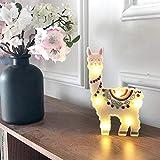 Alpaka LED Nachtlicht Kinder Kinderzimmer dekorative Tisch Nachttischlampen für Regal Wohnzimmer...