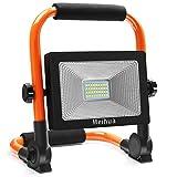 MEIHUA LED Flutlicht Camping 3400LM LED Baustrahler 30W LED Arbeitsscheinwerfer Arbeitsleuchte IP66...
