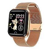 MKLI Smart Watch für Frauen Sport Smart Armband IP67 wasserdichte Uhr Pedometer Herzfrequenzmonitor...
