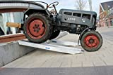 Baumarktplus 2 Stück TrutzHolm® Profi Alu Auffahrrampe ca. 212 cm bis 3.800 kg/Paar Verladerampe...
