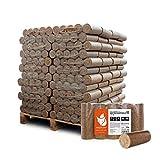 PALIGO Holzbriketts Hartholz Nestro XL Kamin Ofen Brenn Holz Heiz Brikett 10kg x 96 Gebinde 960kg /...