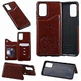 Samsung Galaxy S20 Hlle Flip Lederhlle, Samsung S20 Handyhlle Book Case Katze PU Leder Tasche Case...