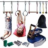 Aminiture Slackline Hindernisse für Kinder Klettertau für Anfänger Ninja Line Set zum Aufhängen