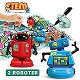 REMOKING Roboter Spielzeug für Kinder, Induktiver Roboter Elektronisches Spielzeug, Track Puzzles...