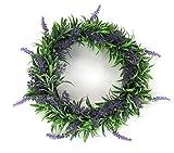 Deko Kranz Lavendel gro  30cm