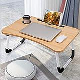 Laptoptisch Lapdesk Betttisch Laptophalterung, Notebooktisch klappbarer Lapdesk, Faltbare Betttisch...
