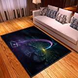 KFEKDT Flanell Home Wohnzimmer Weiche Teppich Schlafzimmer Teppich Nachtdecke Kinderzimmer...