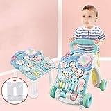 NOLLY Lauflernhilfe Frühkindliche Baby-Multifunktions-Walker Standing Trolley Toy Kinder ,...