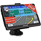 Bluetooth Navi Navigation für Auto Navigationsgerät LKW Navigationssystem PKW 7 Zoll 16GB...