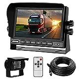 Rückfahrkamera-Set mit 7'-LCD-Monitor & 170° Weitwinkel- Rückfahrkamera, IP68 wasserdicht, 18IR...