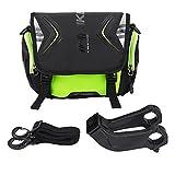 Fahrrad Lenkertasche Wasserdichte Fahrrad Fronttasche Einzelne Schultergurt Tasche mit Halterung und...