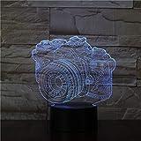 olwonow 3D led nachtlicht Junge nachtlicht led nachtlicht Touch Lampe büro Kunst Dekoration...