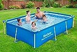 BARGAINSGALORE Bargalore Bestway Pro Stahlrahmen für Schwimmbecken, Garten, Familie, Außenbereich,...
