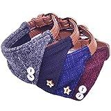 MayPaw Hunde-Halstuch-Halsband, süßes Britisches Design, weich, für Welpen, Katzen, Leder,...