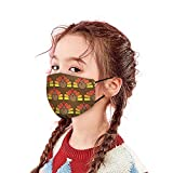 1PC Atmungsaktiv Mundschutz Neckwarmer Anti Staub Erntedank Mund Stofftaschen Mundbedeckung für...