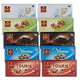 Frey 10x klassische Schokoladentafeln aus 5 Sorten - Classic Mix - Schweizer Schokolade Tafel -...