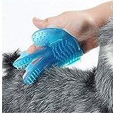 Pet Handschuh Professional Gummi Pet Trimming Hair Beauty Handschuhe Hundehaarbürste Haarentfernung...