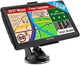 Navigation für Auto LKW Navi 7 Zoll Navigationsgerät Testsieger 2021 Navigationssystem PKW 16GB...
