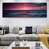 wukongsun Schlafzimmer schönen Sonnenuntergang seelandschaft Leinwand Bild Poster und Wandkunst...