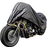 Cokomono Motorradabdeckung, Motorradgarage Winterfest, 210D Oxford Motorrad Abdeckplane Outdoor &...