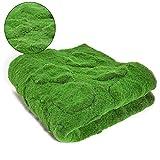 Wopohy Künstliches Gras, künstliches Moos Gras, realistisches künstliches Grünes Rasen,...