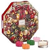 Yankee Candle Adventskalender-Geschenkset, mit 24duftenden Teelichten und 1Teelichthalter aus...