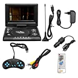POOPFIY 7,8-Zoll-Fernseher Home Auto-DVD-Player Portable HD VCD CD MP3 HD DVD-Player USB-SD-Karten...