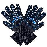 unknow Küchen-Backen-Ofen-Handschuhe Aramid Knitting Hochtemperatur 500 Grad Mikrowelle Handschuhe...