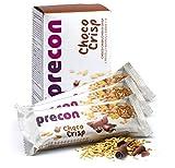 Precon BCM Diät Riegel zum Abnehmen – ChocoCrisp – 3 Riegel à 64 g – Mahlzeitenersatz für...