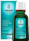 WELEDA Intensiv Pflegendes Haaröl, pflanzliche Naturkosmetik Haarkur mit Rosmarin für sprödes und...