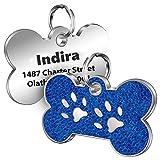Cerolopy Personalisierte Hunde Hundemarke mit eingraviertem Namen,Adresse und Telefonnummer Haustier...