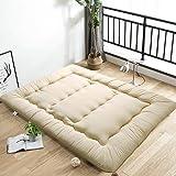 LPZF Japaner Futon Matratze,10 cm Dick Komfort Mehrzweck Tatami Bodenmatratze Fluffy Faltbare...