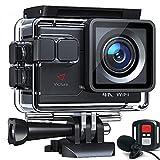 Victure AC700 Action Cam 4K 20MP wasserdichte 40M Unterwasserkamera WiFi helmkamera mit EIS Sensor,...