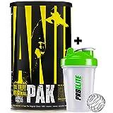 Universal Nutrition Animal Multi Vitamine und Mineralien 44 Packungen + Shaker