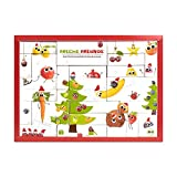Freche Freunde Bio Adventskalender für Kids, Weihnachtskalender, gefüllt mit 24 Kinder-Snacks &...