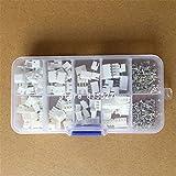 SHTAO 250 Stück JST XH 2,54 mm 2-polig 3-polig 4-polig Anschlussgehäuse Header-Kabelstecker Pitch...