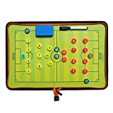 Fuball Taktiktafel Tragbar Trainer Taktikmappe Coachen Trainer-Mappe Fussball Coach-board mit...