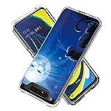 Miagon 2 in 1 Hart PC und Weich TPU Innere Durchsichtig Klar Hülle für Samsung Galaxy A80/90,Bunt...