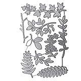 TankMR Stanzschablone Baum Blatt Zweig Metall Stanzschablone Prgeschablone fr DIY Scrapbook Album...