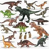 Kinder Spielzeug 20 Packungen Dinosaurier Spielset für Kleinkinder, Jungen Lernspielzeug,...