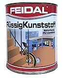 Feidal Flüssigkunststoff / farblos / seidenmatt / zum Versiegeln und Beschichten von Betonböden,...