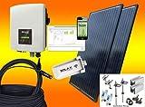 SOLAX 900Watt Balkonkraftwerk/Solaranlage Komplettset mit Internetüberwachung (MIT MONTAGEMATERIAL...