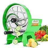 Newhai Manueller Gemüse- und Obstschneider, 0,8–9 mm, Dicke, verstellbar, Schneidemaschine,...