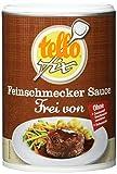 tellofix Feinschmecker Sauce zu Braten Frei von - ohne Geschmacksverstrker, ohne Farbstoffe und ohne...